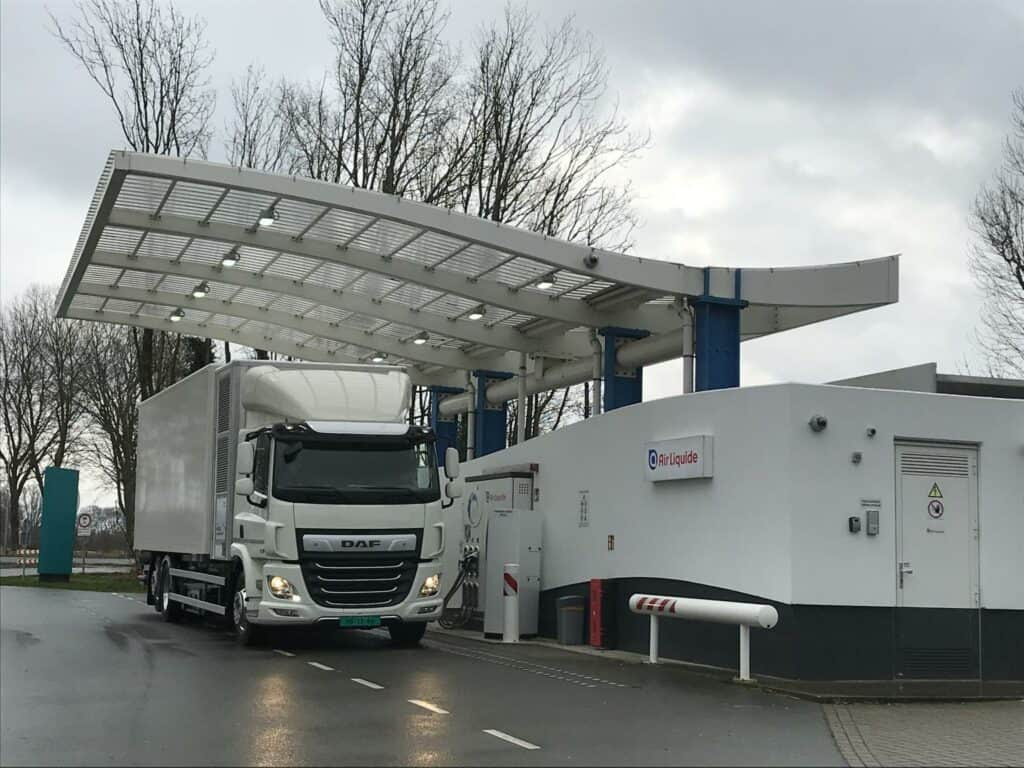 Air Liquide tankstation
