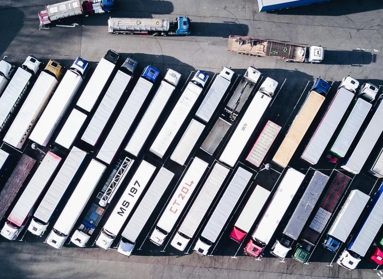 Vrachtwagens Brexit